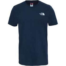 The North Face Simple Dome Kortærmet T-shirt Herrer blå
